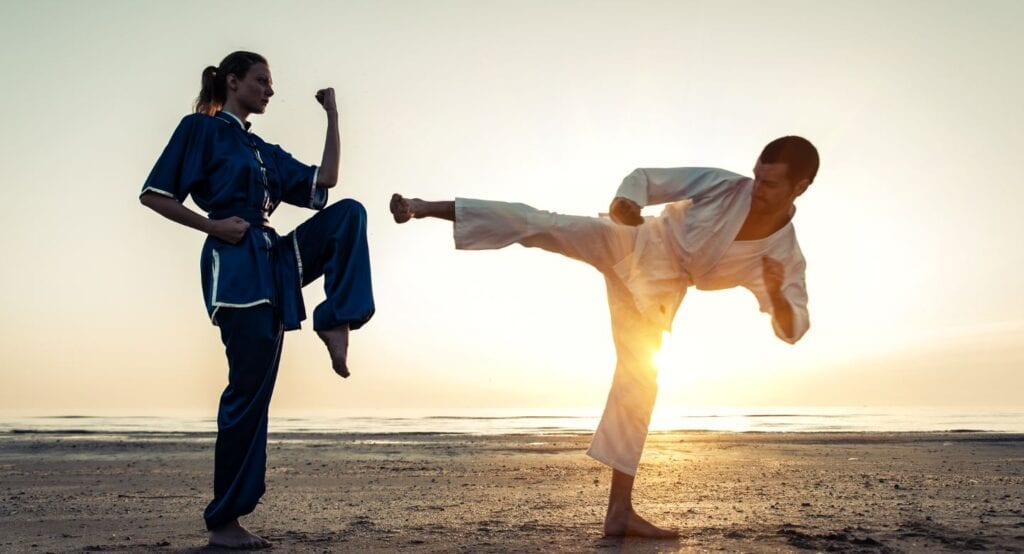 Strengthening your mind and body by practicing a martial art